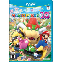 Mario Party 10 Nintendo Wiiu Wii U Pronta Entrega E-sedex