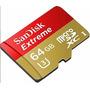 Memoria Micro Sd Sandisk Extreme 64gb U3 Ultra Hd 4k Gopro!