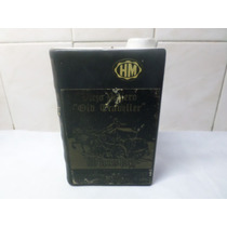 Botella Whisky Libro Ceramica Viejo Viajero Old Traveller