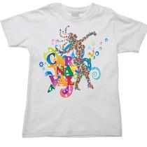 Camiseta Infantil Carnaval Canarval Folia Frevo Trio 08