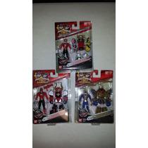 Power Rangers Samurai Set De 3 Con Armaduras