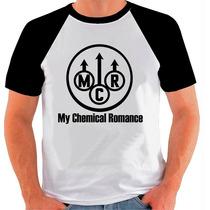 Camiseta Raglan My Chemical Romance Banda De Rock 571
