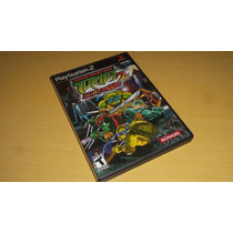 Teenage Mutante Ninja Turtles 2 Battlenexus Original Ps2 !!!