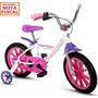 Bicicleta Aro 14 Aluminio Feminina Nathor Menor Preço