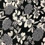 Flores Negro-Blanco (Polilycra)