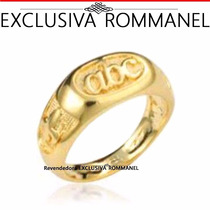 Rommanel Anel Infantil Abc Alfabeto Formatura Criança 510600