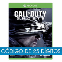 Call Of Duty Ghosts Português Xbox One Codigo 25 Digitos
