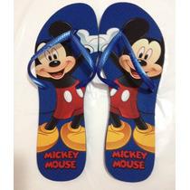 Chinelo Personalizado Havaianas Modelo Flat - Mickey