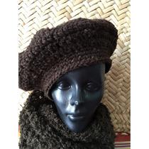 Boina De Lana Crochet Térmica