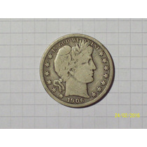 Estados Unidos 1/2 Dólar 1906 O Plata Muy Linda