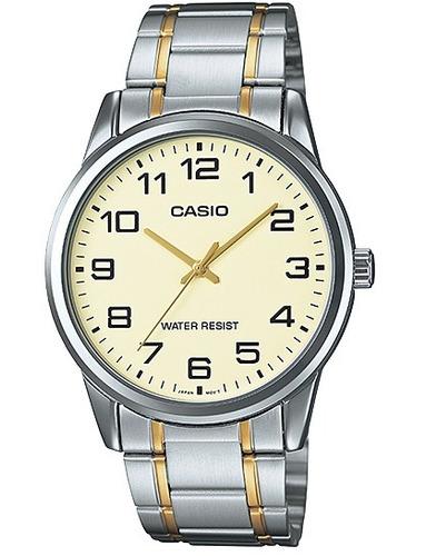 8c7f6dde02d Relógio Casio Collection Masculino Mtp-v001sg-9budf - R  219