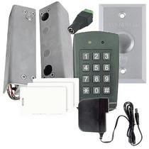 Sistema De Control Acceso Para Puerta-marco D Vidrio Teclado