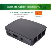 Gabinete Case Raspberry Pi 3 Original Element14 Uk Negro