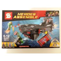 Lego Heros Assemble Vingadores Marvel Peças Para Montar