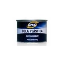 Massa Plástica - Adesivo Plastico Cinza 500g - Telas Cupece