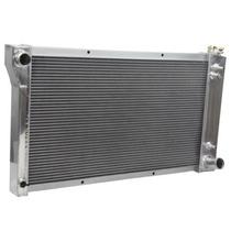 Radiador Aluminio 67-72 Chevy Pick Up 4 Columnas Y Abanicos