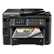 Impresora Scanner Epson Wf3640a Wireless Fax Wifi Copia