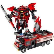Kre-o Transformers Sentinel Prime-fire Truck