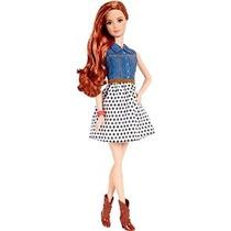 Barbie Fashionista Teresa Doll Jean Camisa Y Blanco Y Negro