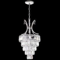 Lustre Cristal Pendente Iluminacao Parede Sala 2407-40 Mr