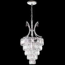 Lustre Cristal Luxo Iluminacao Parede Sala Led 2407-30 Mr