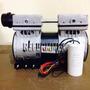 Cabeza Compresor Libre Aceite 1hp Silencioso Envio Gratis