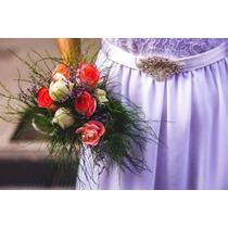 Vestido De Novia Calidad Superior Estilo Boho Romántico