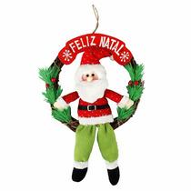 Guirlanda Enfeite De Natal C Noel P Portas E Fachadas