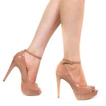Sapato Luiza Barcelos Peep Toe 10210075   Zariff
