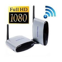 Transmissor Wirelless Tv Full Hd Receptor S/ Fio 2,4ghz Nota