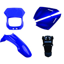 Kit Carenagem Xtz 125 Azul 2006 A 2009