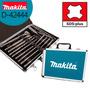 Kit 17 Pc Ponteira Talhadeira Broca Sds-plus + Maleta Makita