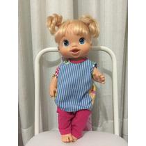 Roupa Para Boneca - Pijama - Baby Alive - Roupinha Pijaminha
