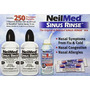 Neilmed Sinus Rinse - 2 Botellas - Spray Kit 250 Paquetes Pr