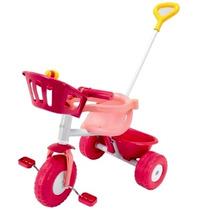 Triciclo Rondi Rosa Con Aro Sujetador Y Barral 3500