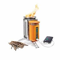 Estufa Calefactor Biolite Camping Cargador Bateria Celular