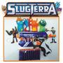 Pistola + Kit Bajoterra Slugterra10 Dardos 4babosas2 Figuras