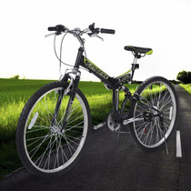 Bicicleta De Montaña Plegable 6 Velocidades