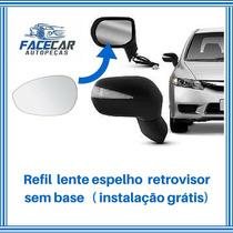 Lente Espelho Retrovisor Fiat Novo Palio 2012 2013