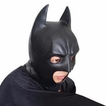 Máscara Do Batman Latex Cosplay Fantasia Carnaval Halloween