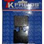 Kit Completo Pastilhas De Freio Suzuki Burgman 400 Ano 01-09