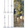Modulos De Hierro Forjado - Puntas Rizos Balustres Paneles