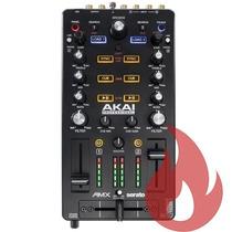 Akai Amx . Controladora Dj Mixer Serato Interface Pré Escuta