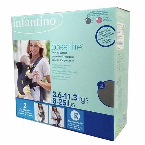 2793d461b43a Mochila Porta Bebé Breathe Infantino 2 En 1 De 3.6 A 10 Kg -   1.199,00 en  Mercado Libre