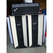 Cabezal Fender Vintage Pa 135 Con Cajones Fender Made Usa