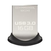 Pendrive 16gb Usb 3.0 Sandisk Ultra Fit Memoria Flash Drive