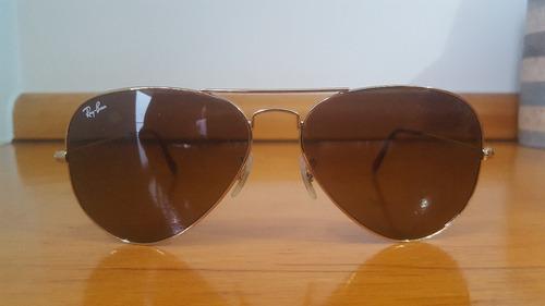 Óculos Rayban Aviador Rb 3025 001 33 3n Dourado Original - R  320,00 em Mercado  Livre 41ba4d261f