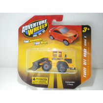 Adventure Wheels Traxcavo Naranja 1:64