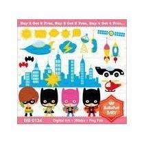 Kit Imprimible Super Heroes Batman Png Clipart [159]