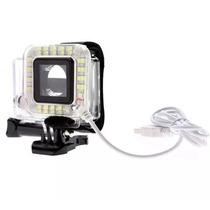 Lampara Portable Para Gopro Led Luz Iluminacion Bateria